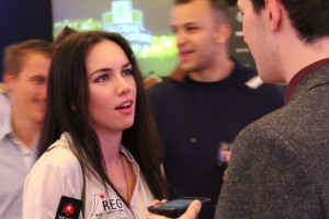 GPI Female player of the year Liv Boeree
