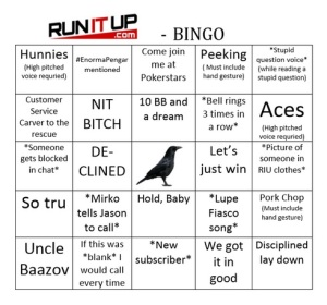 RunItUp has spawned a whole new meta-language, showcased here with the handy bingo card