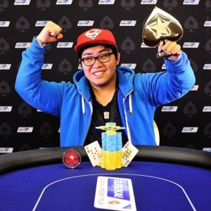 Thanh Nguyen, winner of the first ever EPT Junior Event in Prague last season