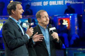 Poker commentators Chad Norman and Lon McEachern
