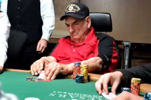 94-year-old William Wachter competing in the 2015 Main Event