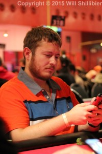 POY contender Brian Hastings at the WSOPE