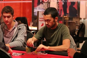 Mike in action at the WSOPE in Berlin